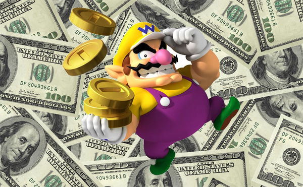 videogame money