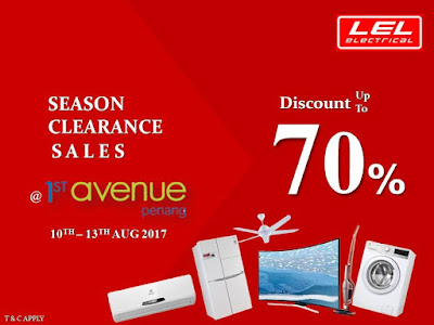 LEL Electrical Season Clearance Sale