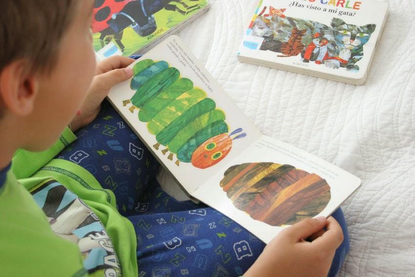 Llibro de la oruguita glotona