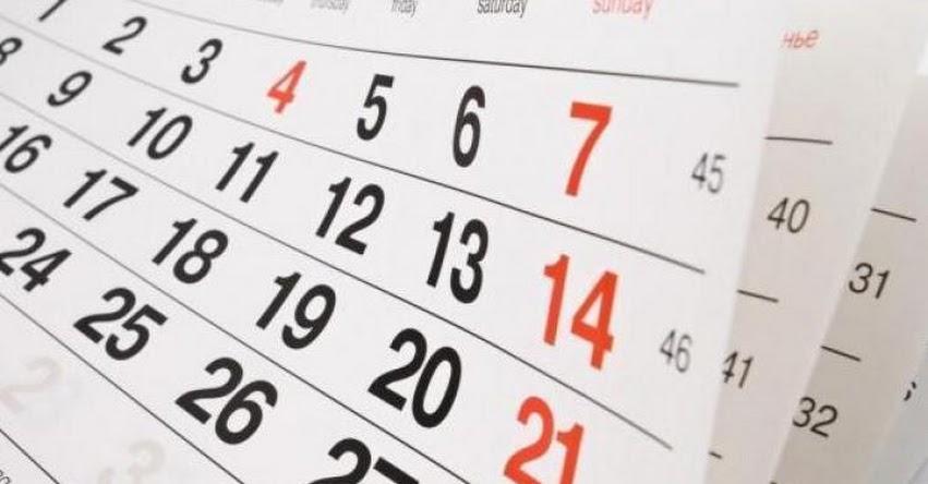 Feriado largo de fin de año se extenderá hasta el 2 de Enero (D. S. Nº 001-2017-PCM)