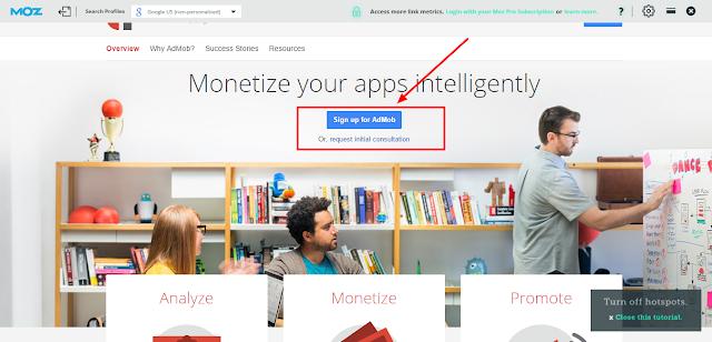 Cara Daftar Google Admob Untuk Menghasilkan Uang dari Aplikasi Android