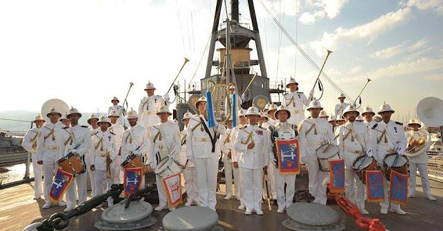 Η Μπάντα του Ελληνικού Πολεμικού Ναυτικού ανοίγει το 27ο Φεστιβάλ Ναυπλίου