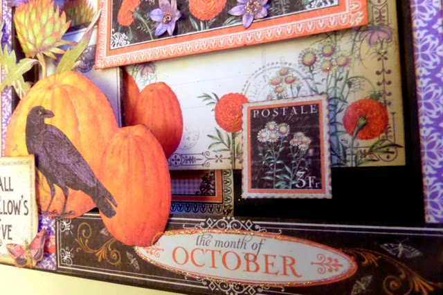Time to Flourish Altered Frame  4 Clare Charvill Candy Box Crafts Graphic 45