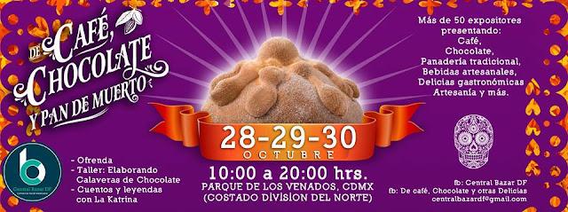 fiesta de café chocolate pan de muertos cdmx 2016