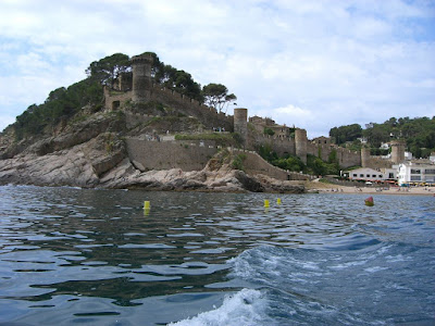 The castle and the old town of Tossa de Mar