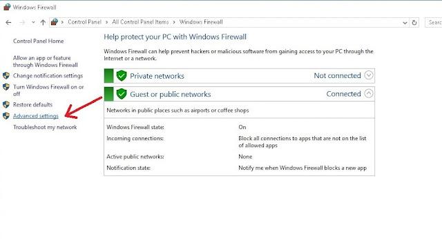 كيفية منع برنامج من الوصول إلى الإنترنت في الويندوز؟
