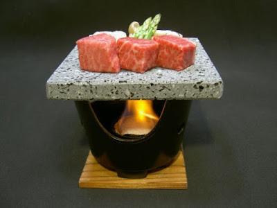 Mt Fuji stone Grill