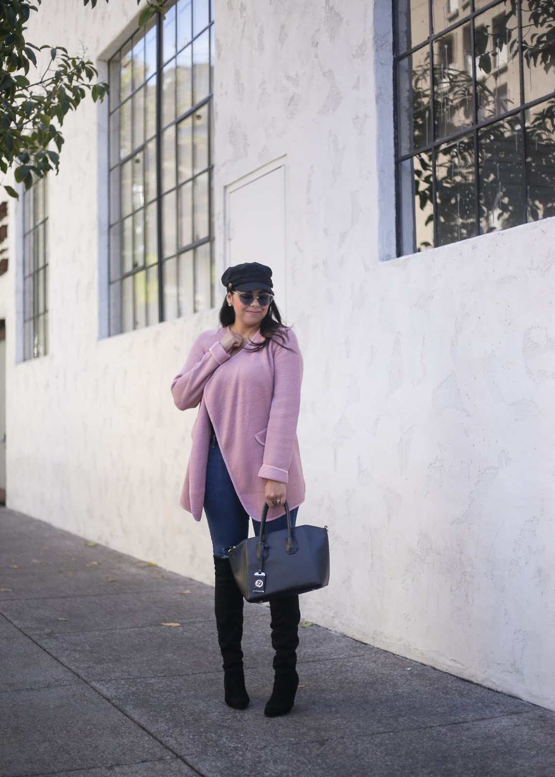 fall fashion 2018, socal fall fashion 2018, how to wear a pink sweater in fall