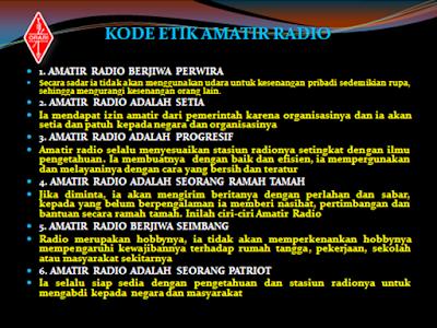 Kode Etik Amatir Radio
