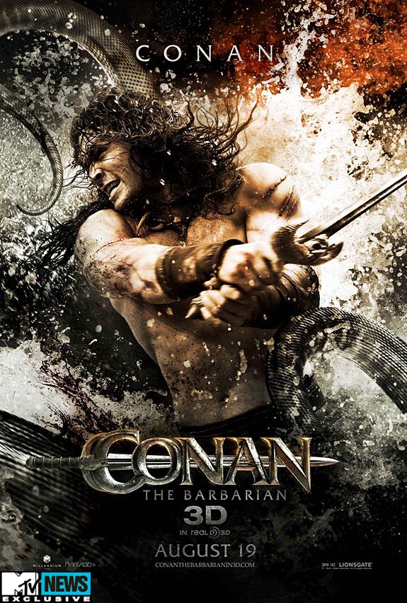Poster de Conan el Barbaro
