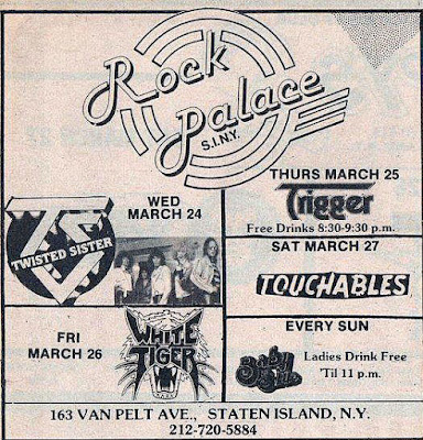 The Rock Palace... March 24, 1982