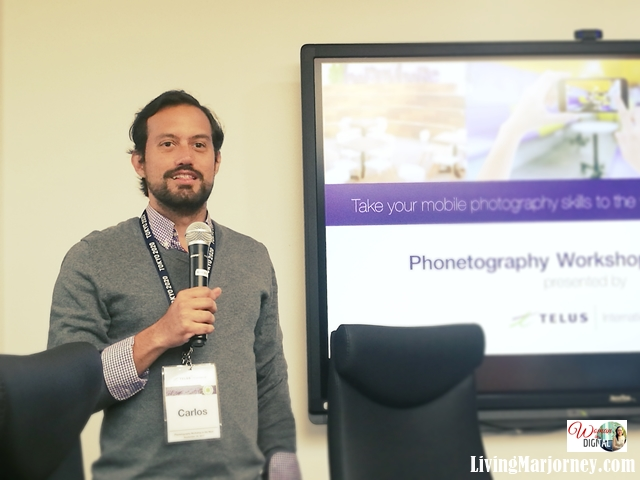 Carlos Giammattei, Director for Corporate Communications, TELUS International Philippines