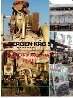 Bergen, KRG 5, used,marine, motor, moteur, marina, for sale,