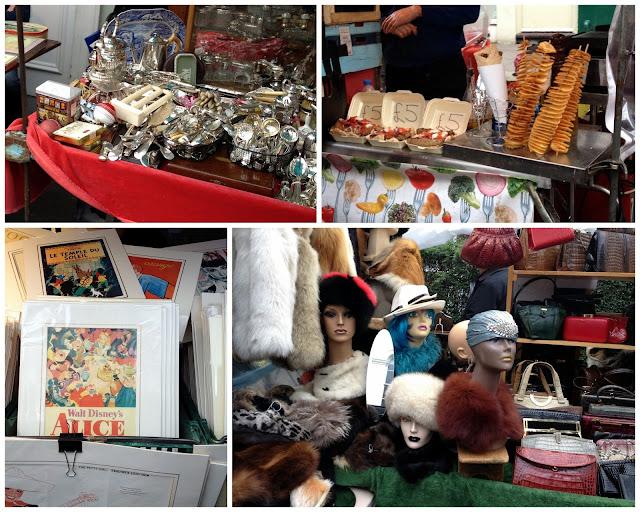 Tiendas curiosas en el mercado de Portobello