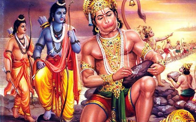 Lord Ram Lakshman & Hanuman  HD Wallpaper