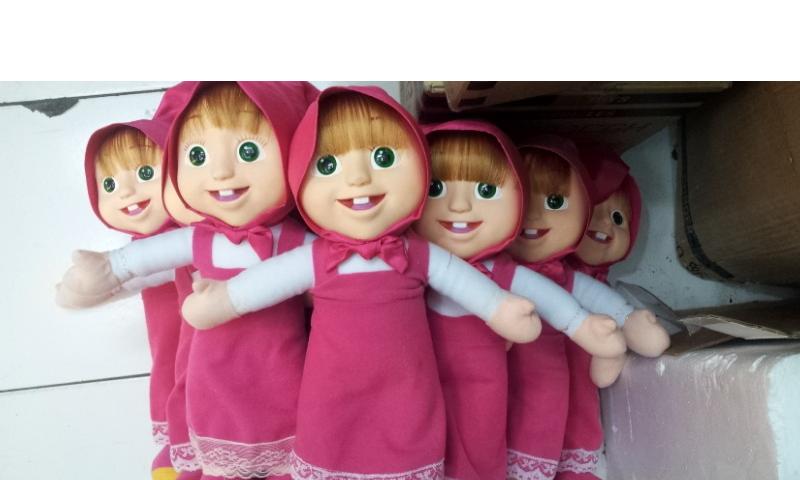 jual boneka masha