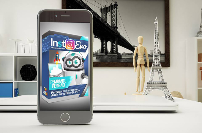 Robot Pemasaran Instagram 9 Dalam 1