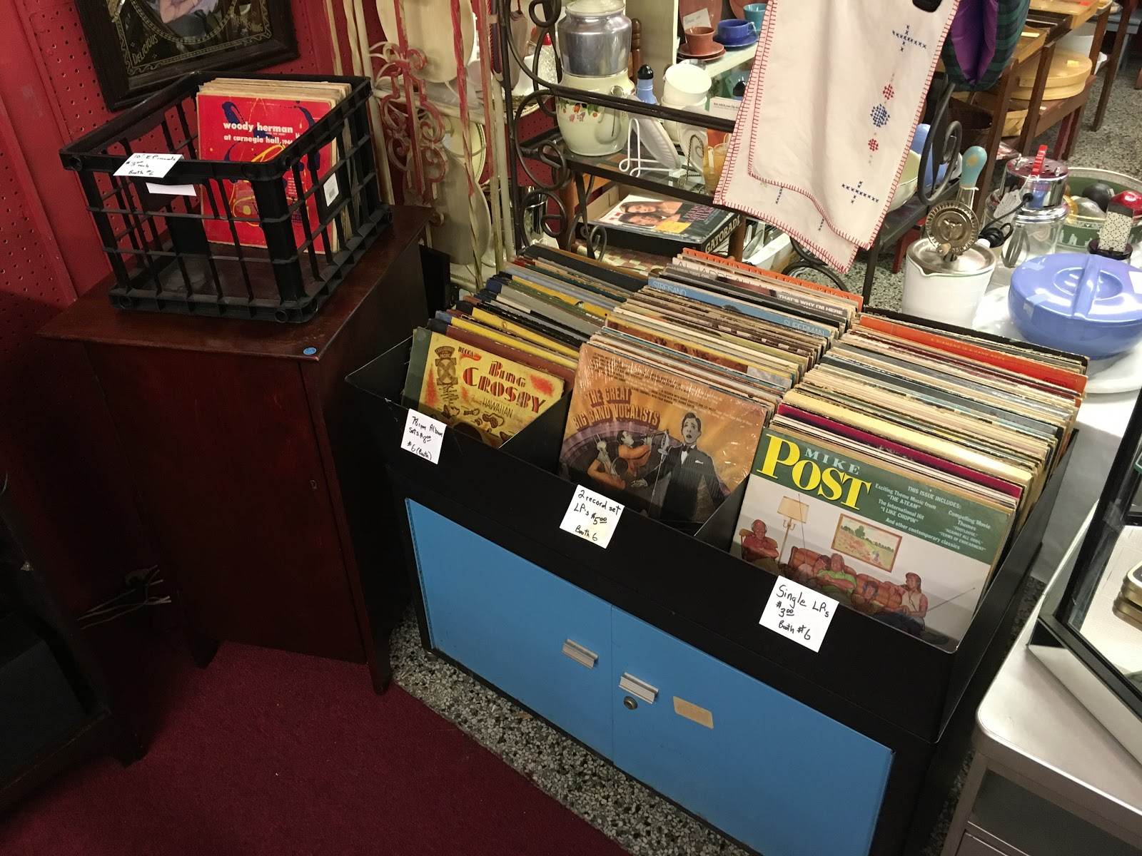 antique mall lexington ky Vinyl Record Album Collecting in Chicago and the USA: Meadowthorpe  antique mall lexington ky