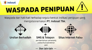 Kumpulan Daftar Situs PENIPUAN Indosat / M-TRONIK Kedua