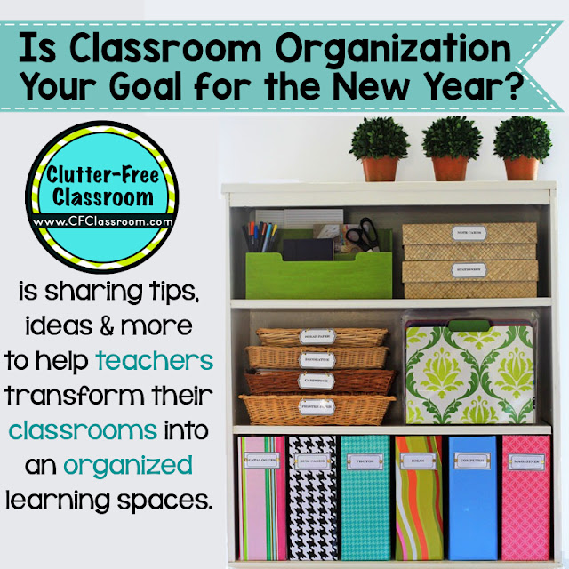 December 2015 clutter free classroom - Classroom desk organization ideas ...