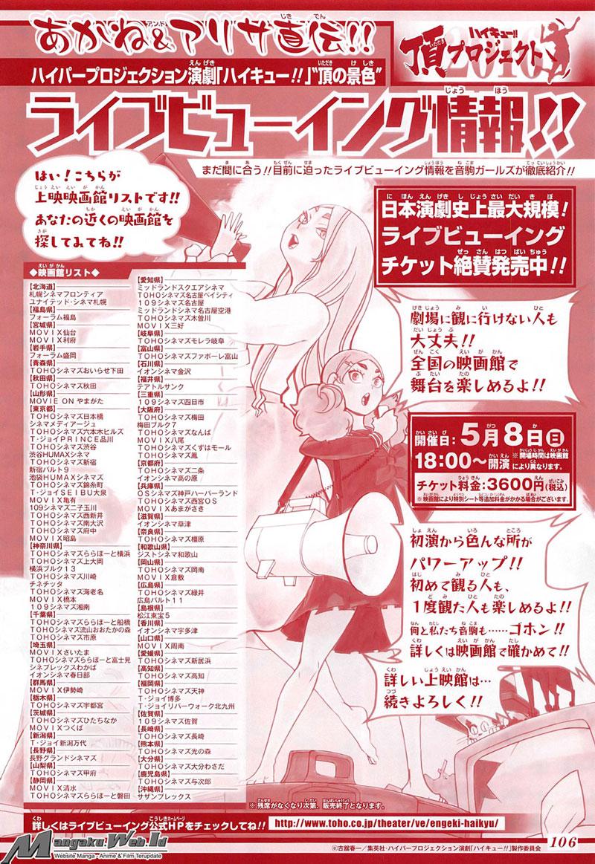 Haikyuu Chapter 203-2