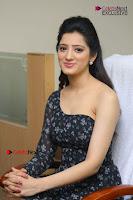 Telugu Actress Richa Panai Stills in One Shoulder Floral Long Dress at Rakshaka Bhatudu Movie Interview  0180.JPG