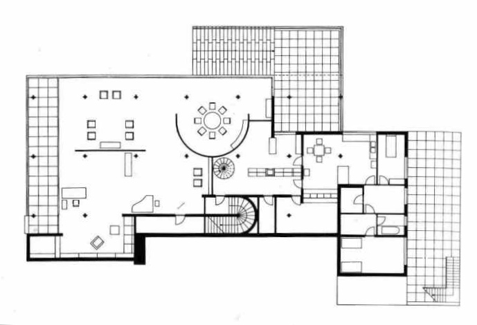 plan-tugendhat1 Tugendhat House Floor Plan Diions on