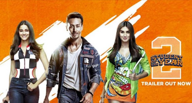 'Student Of The Year 2' trailer' Tiger Shroff, Ananya Pandey, Tara Sutaria - Trailer Viral.
