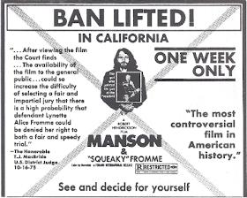 The Manson Family Blog: Film Reviews