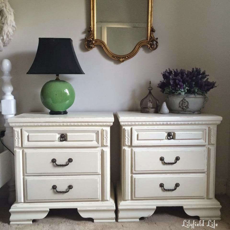 White Painted Furniture Before And After Photos
