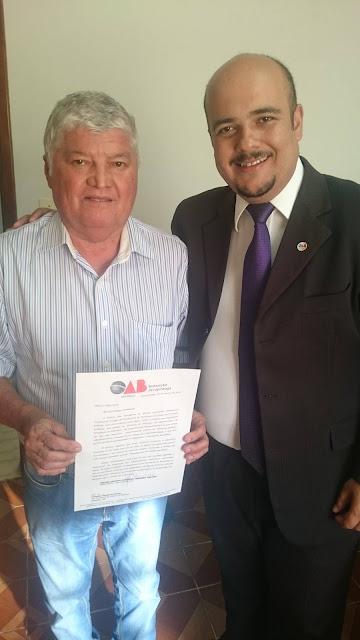 OAB Jacupiranga faz moção de apoio ao impeachment