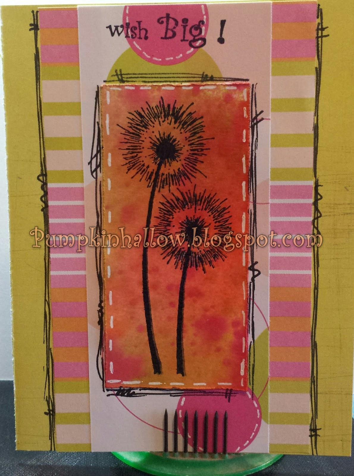 Just For Fun Rubber Stamps Dandelion Wishes