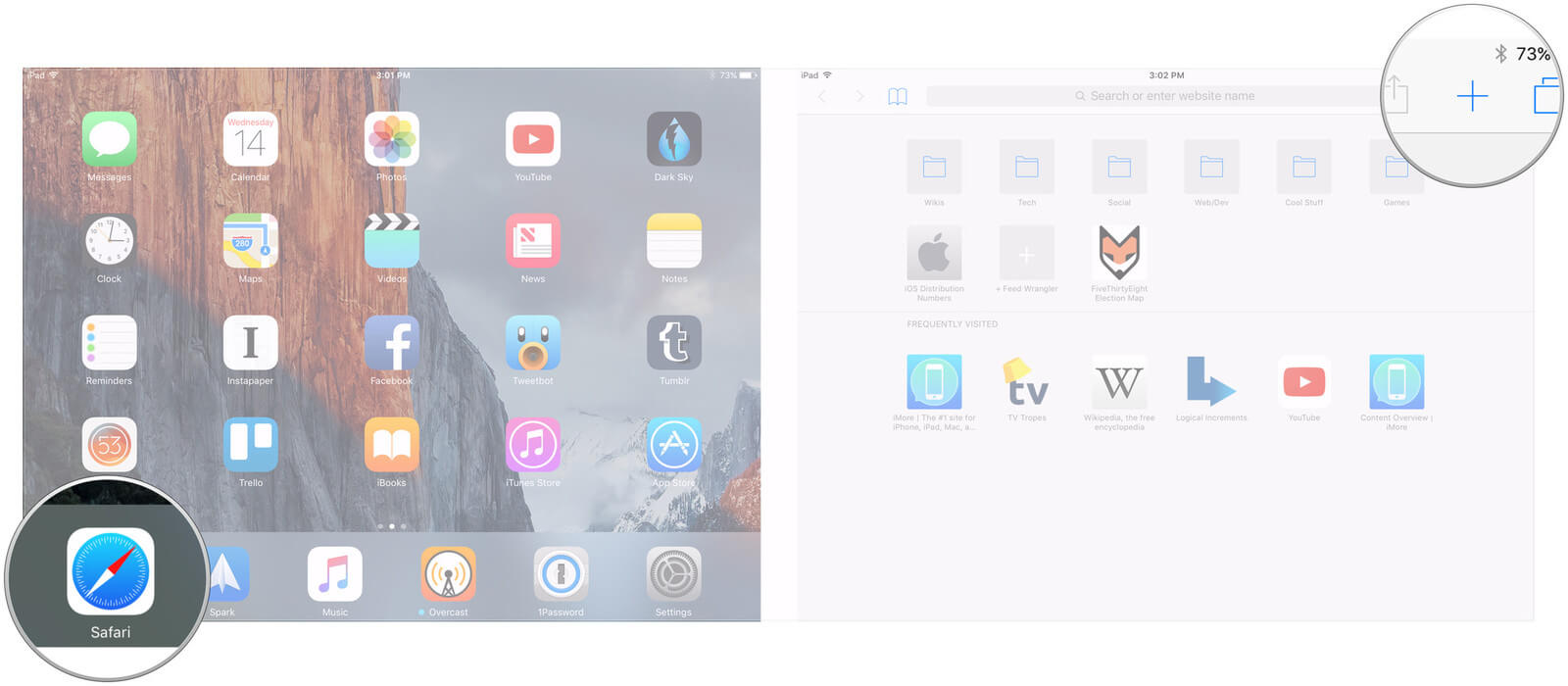 Cara Membuka Kembali Tab Yang di Tutup di iOS 11 Safari Pada iPhone dan iPad