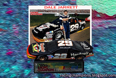 Dale Jarrett #29 Ghostbusters Racing Champions 1/64 NASCAR diecast blog 1989 Charlotte