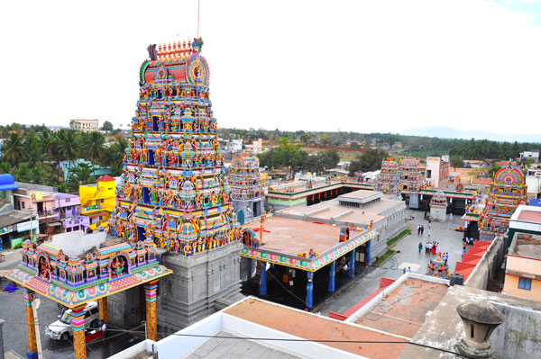 Mecheri Badrakaliamman Temple Entrance Images