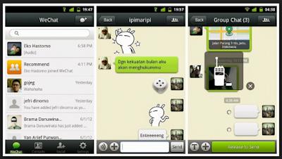 Aplikasi Wechat apk
