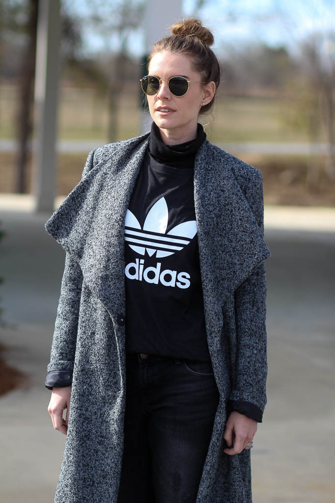Streetstyle- Adidas tee