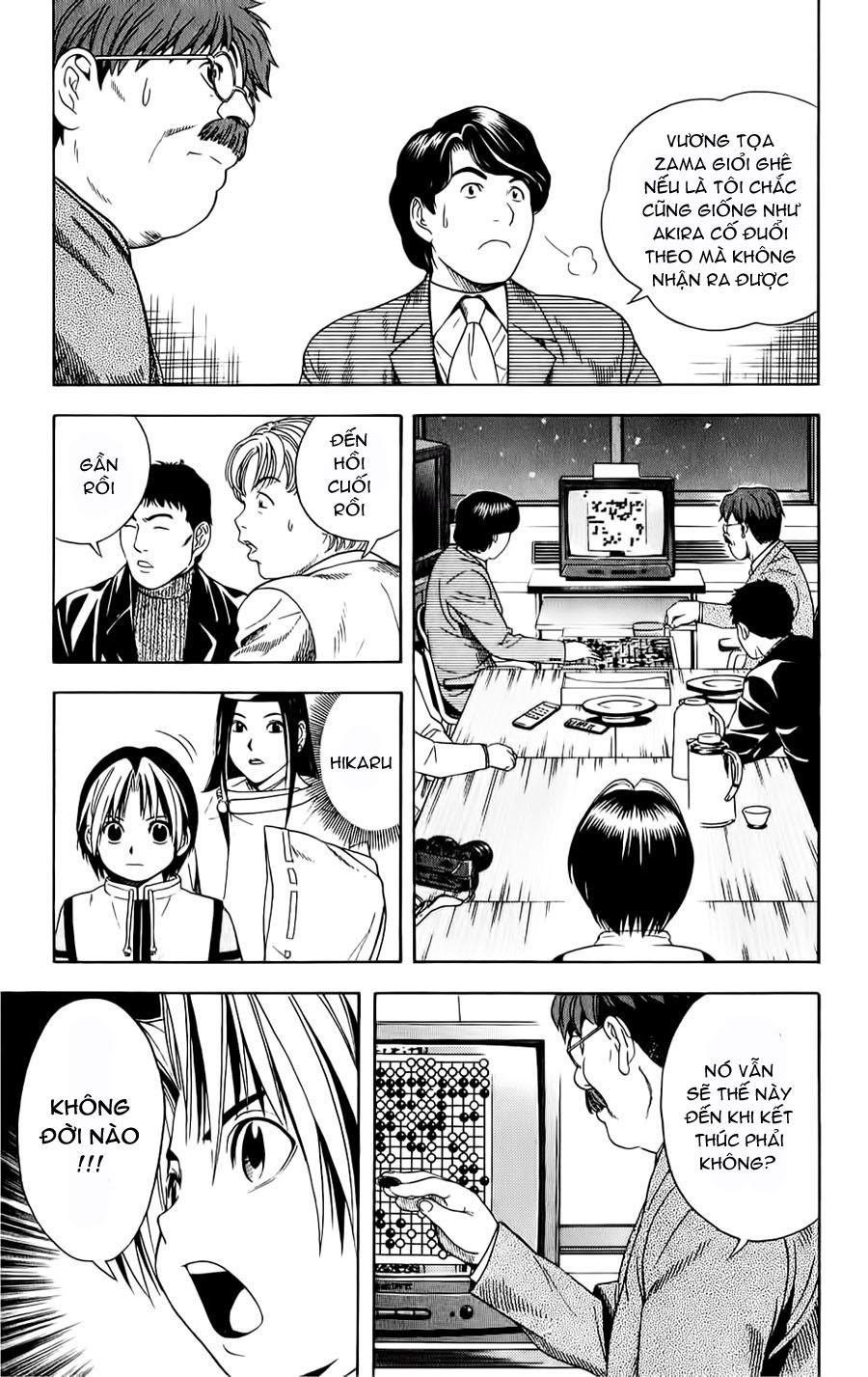 Hikaru No Go hikaru no go chap 50 trang 8