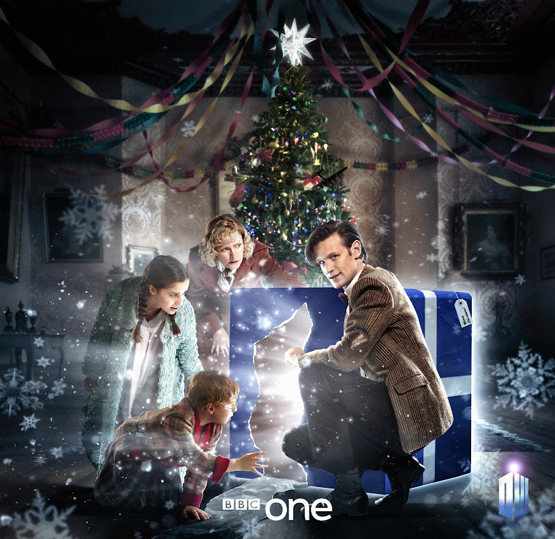 Doctor Who Christmas 2011 promo artwork Doctor Widow Wardrobe
