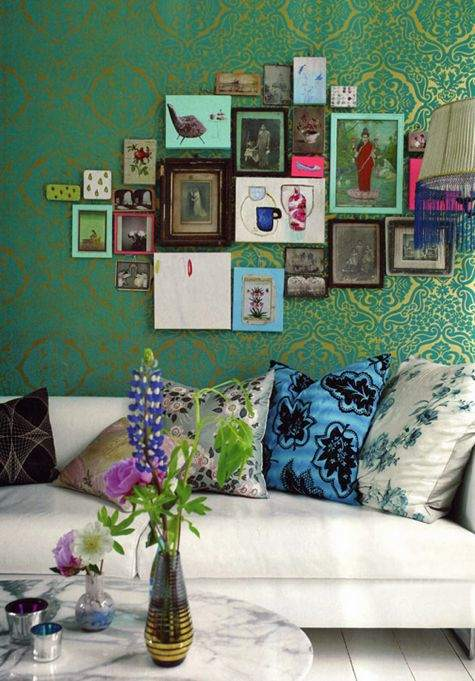 Bandanamom: New Trend - Bohemian Decor