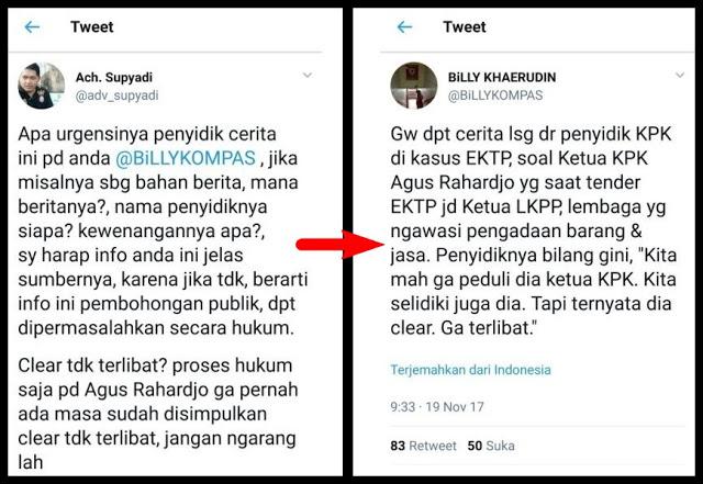 """Dicecar Advokat Soal Pernyataan """"Ketua KPK Clear Tidak Terlibat EKTP"""", Wartawan KOMPAS Terbungkam"""