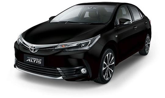 Warna Toyota Corolla Altis Tahun 2018