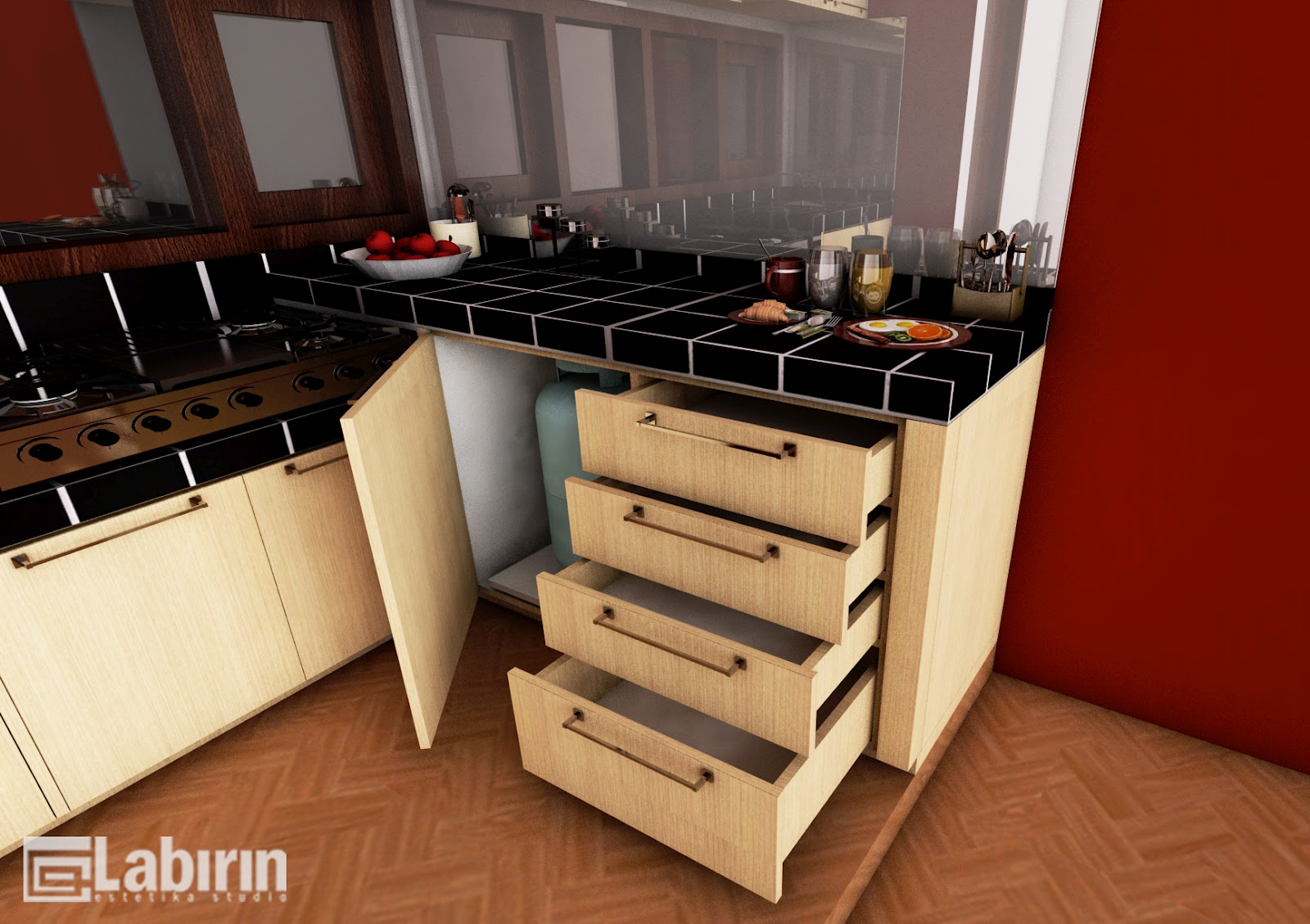 541 ALL NEW HARGA KITCHEN SET MINIMALIS SURABAYA