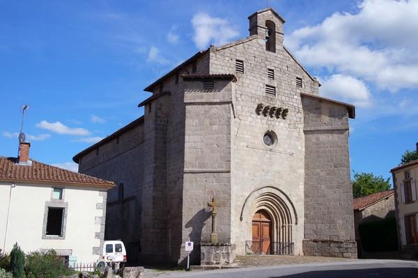 france limousin haute-vienne monts blond église fortifiée