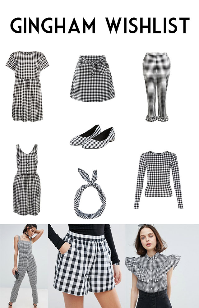 Gingham Wishlist