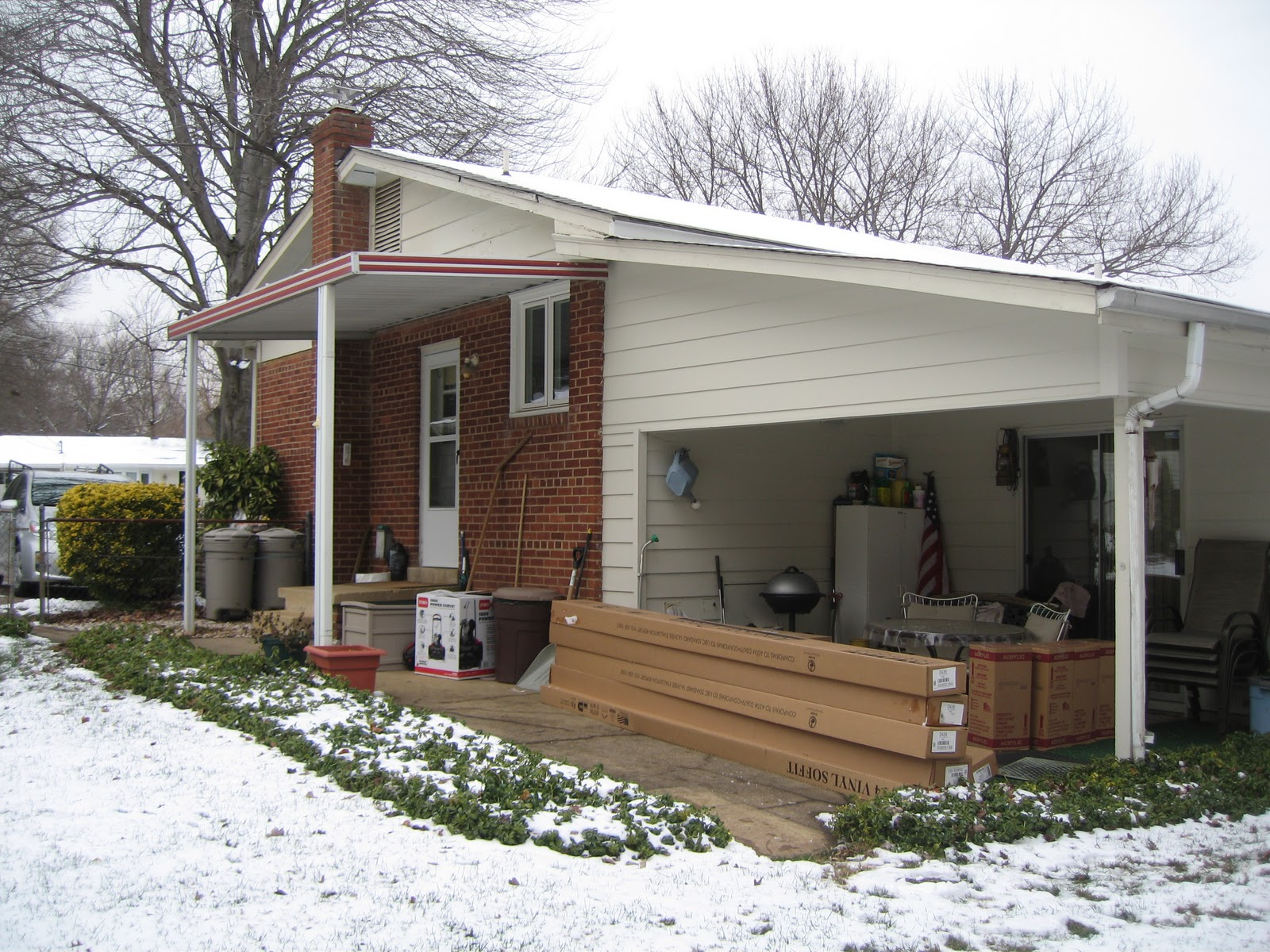 Bfc Inc Siding Trim Porch Arch