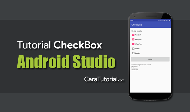Tutorial Membuat Aplikasi CheckBox Android Studio