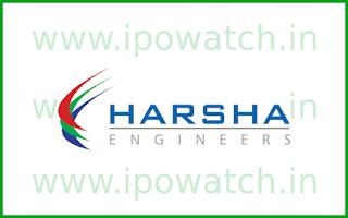 Harsha engineers ipo size