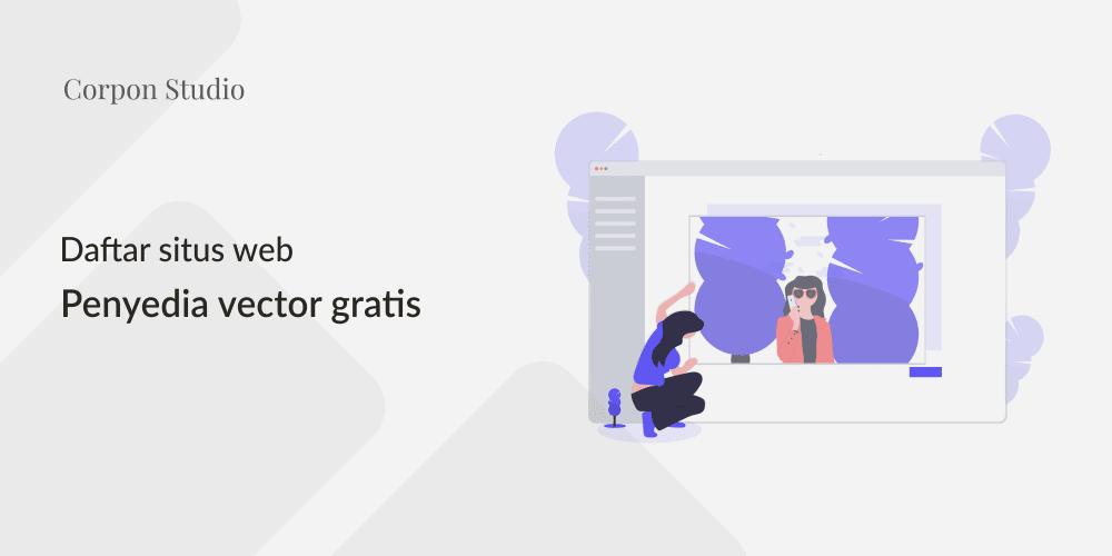 situs penyedia vector gratis