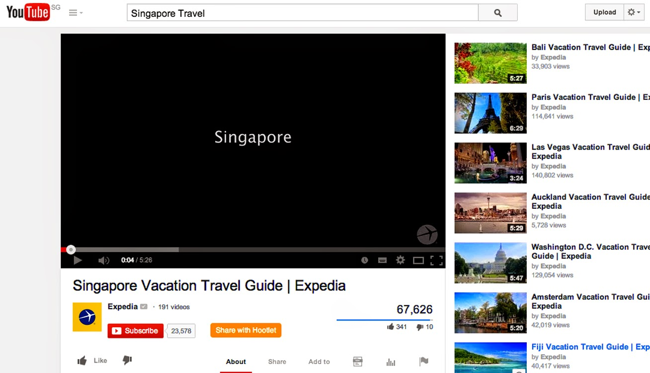 bowdywanders.com Singapore Travel Blog Philippines Photo :: Singapore :: 7 Singapore Travel Videos in Youtube Worth Sharing